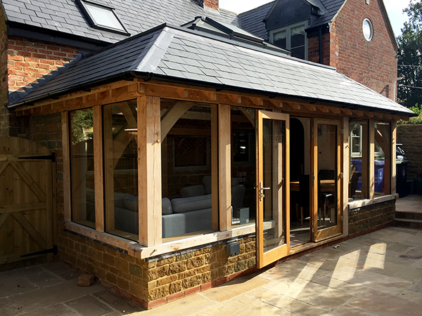 Oak Framed Orangeries By Shires Oak Buildings